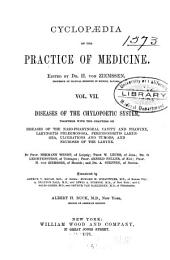 Cyclopædia of the Practice of Medicine: Volume 7