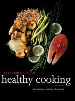Techniques of Healthy Cooking PDF