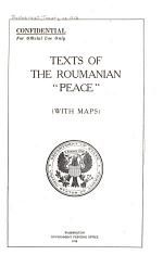 Texts of the Roumanian