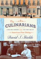 The Culinarians PDF