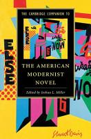 The Cambridge Companion to the American Modernist Novel PDF