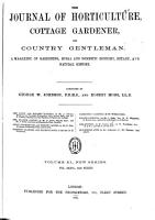 The Journal of Horticulture Cottage Gardener and Country Gentleman PDF