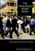 The Hong Kong Health Sector PDF