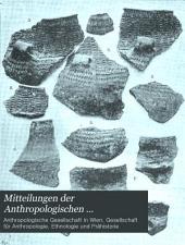 Mitteilungen der Anthropologischen Gesellschaft in Wien