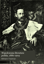 Wspolczesna literatura polska, 1880-1904: Tomy 1-2