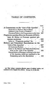 The Whole Works of the Rev. John Lightfoot: Master of Catharine Hall, Cambridge, Volume 8