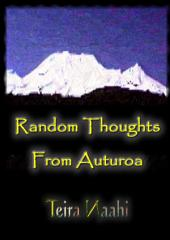 Random Thoughts from Auturoa