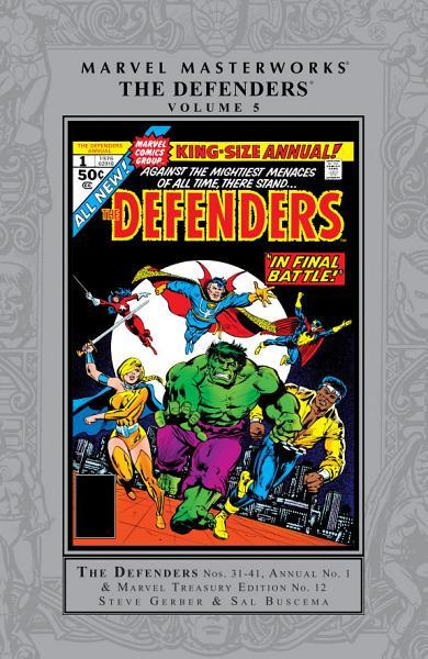 Download Defenders Masterworks Vol  5 Book