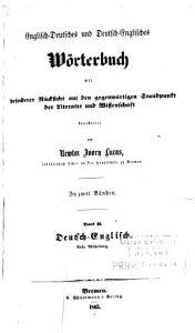 Englisch Deutsches und Deutsch Englisches W  rterbuch PDF