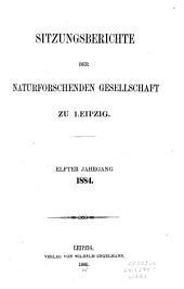 Sitzungsberichte: Bände 11-18