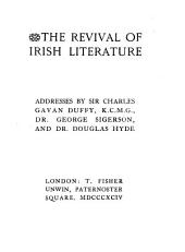 The Revival of Irish Literature