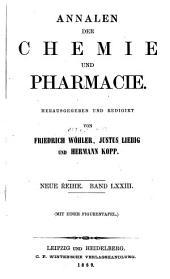 Annalen der Chemie und Pharmacie: Bände 73-74;Bände 149-150