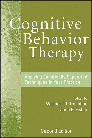 Cognitive Behavior Therapy PDF