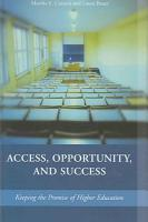 Access  Opportunity  and Success PDF