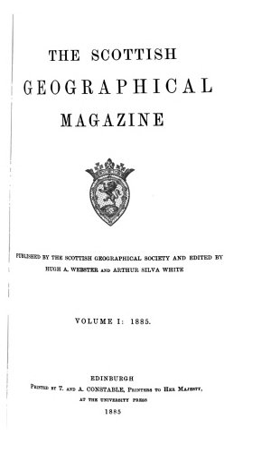 Scottish Geographical Magazine