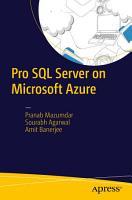 Pro SQL Server on Microsoft Azure PDF