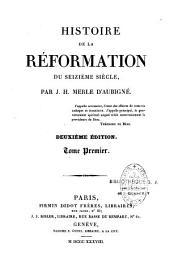 Histoire de la Réformation du XVIe siècle