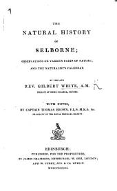 The Natural History of Selborne ... With addition by Sir W. Jardine, Bart. A new edition