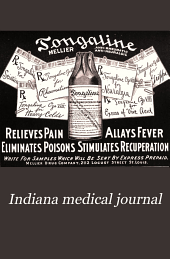 Indiana Medical Journal: A Monthly Journal of Medicine and Surgery, Volume 26, Issue 5
