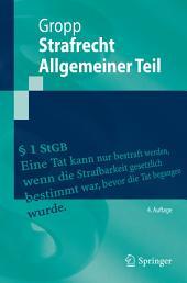 Strafrecht Allgemeiner Teil: Ausgabe 4
