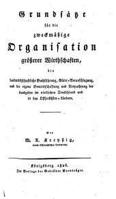 Handbuch zu einem natur- und zeitgemäßen Betriebe der Landwirthschaft in ihrem ganzen Umfange: ¬Die landwirthschaftliche Buchführung etc, Band 4