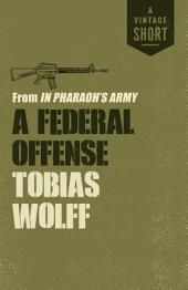 A Federal Offense: from In Pharaoh's Army