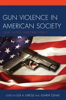 Gun Violence in American Society PDF