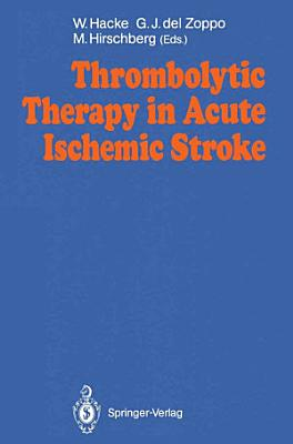 Thrombolytic Therapy in Acute Ischemic Stroke PDF