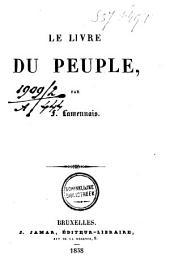 Le livre du peuple: Volume1
