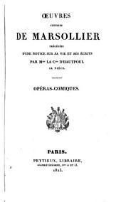 Œuvres choisies de Marsollier: Volume1