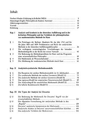 Philosophie als Analysis PDF