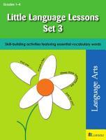 Little Language Lessons Set 3 PDF
