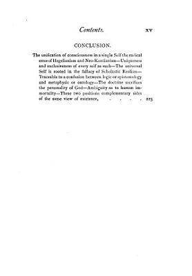 Hegelianism and Personality PDF
