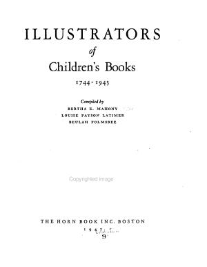 Illustrators of Children s Books  1744 1945