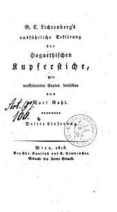 Ausführliche Erklärung der Hogarthischen Kupferstiche: mit verkleinerten Copien derselben, Band 3