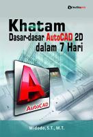 Khatam Dasar dasar AutoCAD 2D dalam 7 Hari PDF