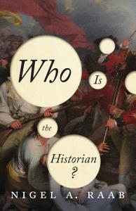 Who Is the Historian  Book