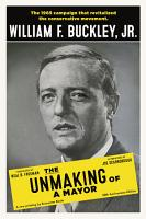 The Unmaking of a Mayor PDF