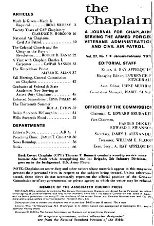 The Chaplain PDF