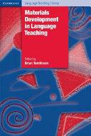 Materials Development in Language Teaching