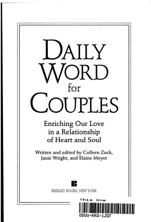 Daily Word for Couples PDF