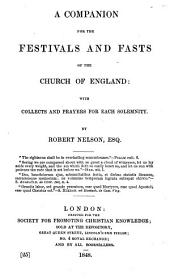 A companion for the festivals and fasts of the Church of England, etc