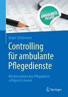 Controlling f  r ambulante Pflegedienste PDF