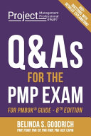 Q As for the PMP R  Exam  For PMBOK R  Guide  6th Edition