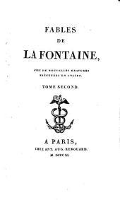 Fables de La Fontaine: avec de nouvelles gravures exécutées en relief