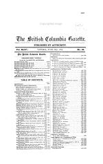 British Columbia Gazette