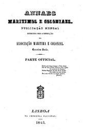 Annaes maritimos e coloniaes: Volume 3