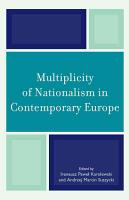 Multiplicity of Nationalism in Contemporary Europe PDF