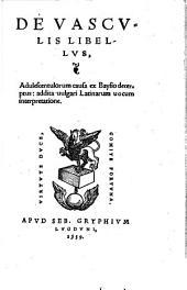 De uasculis libellus