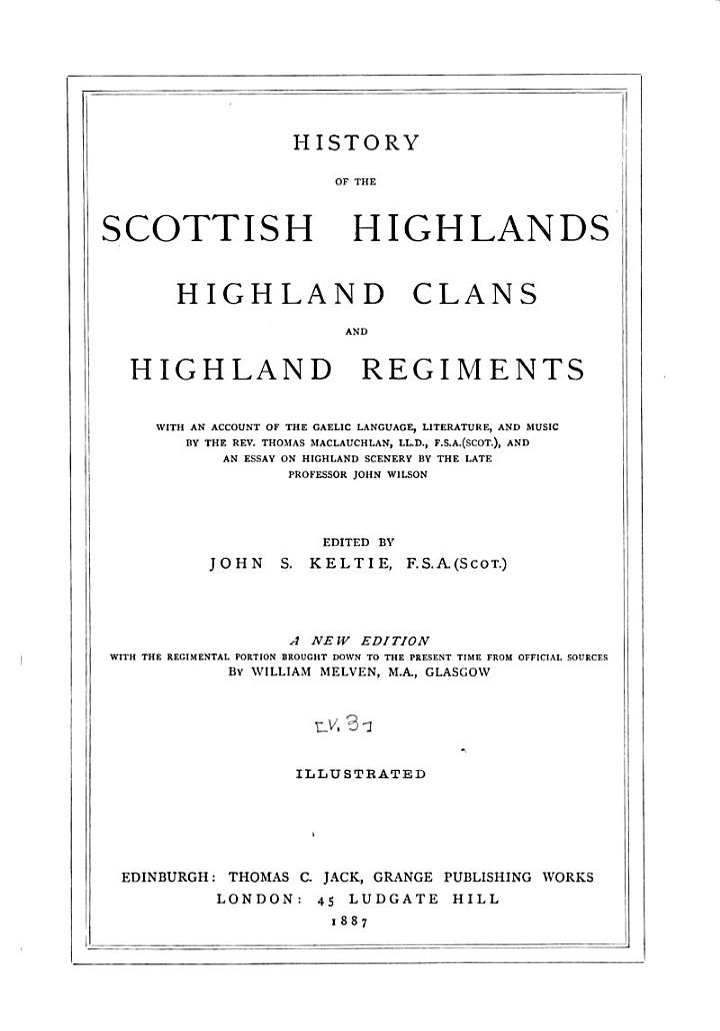History of the Scottish Highlands